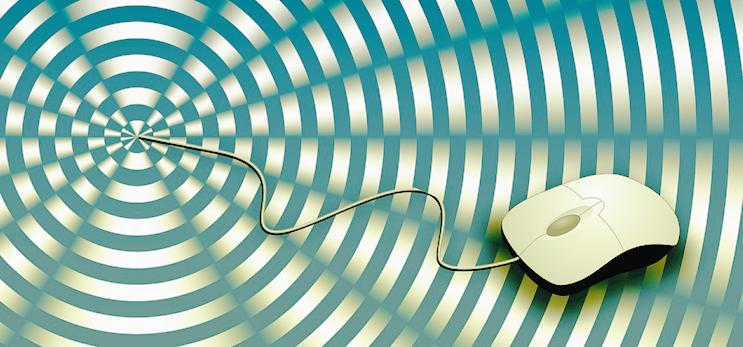 Die Maus steht beim Scrollytelling im Zentrum des Geschehens.